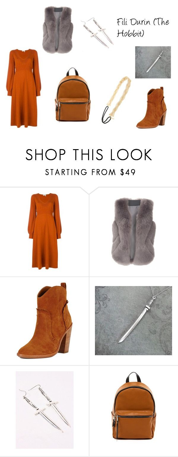 """Fili Durin (The Hobbit)"" by mary-minge on Polyvore featuring Chloé, Joie, MDKN, French Connection and Tasha"