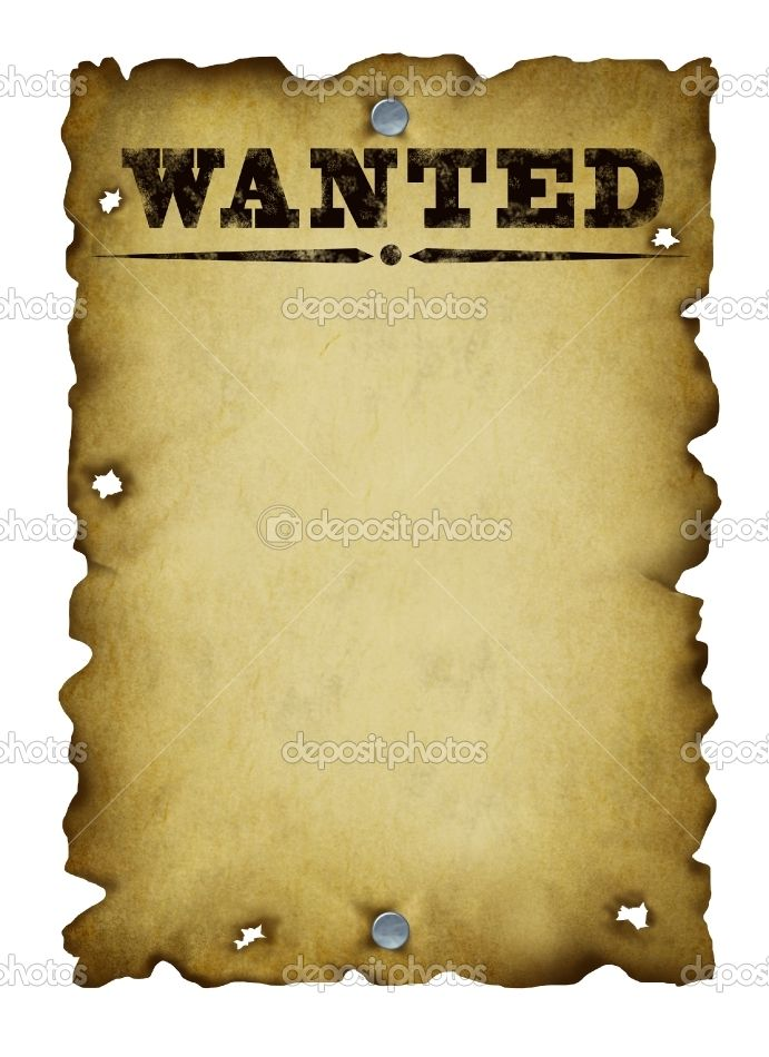 Free old western wanted posters old western wanted poster stock photo c lightsource 9446794 for Wanted poster ideas