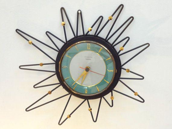301 Best Images About Sunburst Clocks On Pinterest