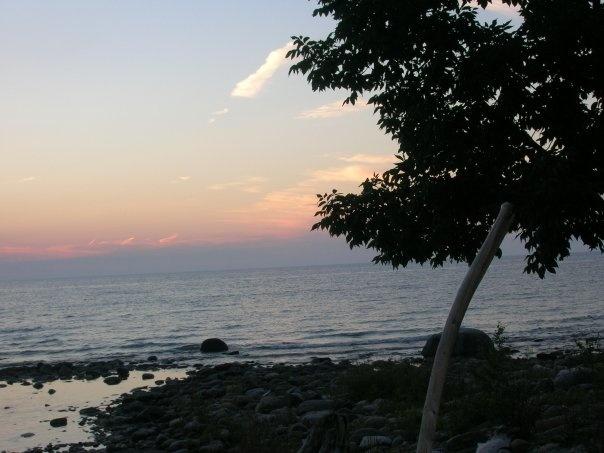 Lake Huron at Southampton, ON