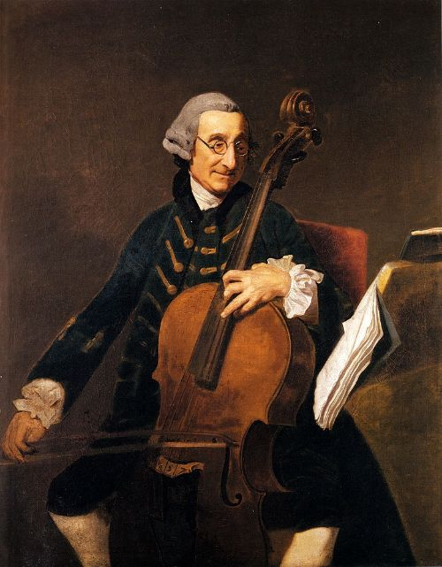 Johan Zoffany [1733–1810] - Portrait Of Giacomo Cervetto