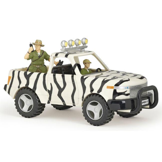 Papo Jeep med förare