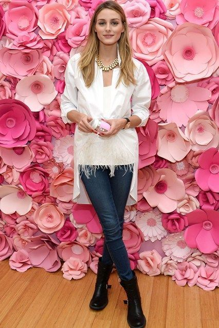 Olivia Palermo At Clarisonic Mia FIT Sonic Cleansing Lounge in New York City