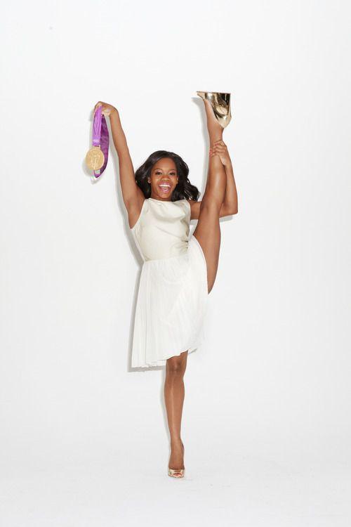 Gabby Douglas for Glamour magazine, December 2012