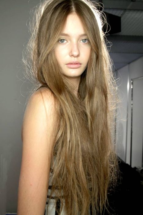 This is the natural look I am going for. I know my hair will never grow this long, but, I think this is my new natural hair color.