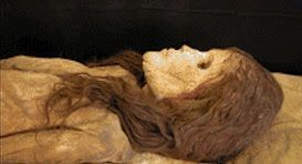The Encyclopedia of Ancient Giants (Nephilim) in North America: Ancient Caucasian Mummies with Auburn Hair Discovered in a Tennessee Burial Vault