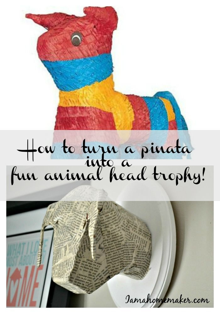 how to make a pinata without paper mache
