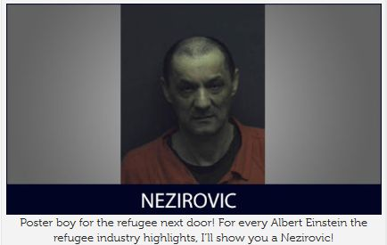 Roanoke, Virginia: Former Bosnian Muslim prison guard extradited to Bosnia, committed war crimes… « The US State Department is quick to say that refugees are thoroughly screened before arriving in the US, don't believe them.   The case of Almaz Nezirovic is not the first case of refugee fraud we have reported over the years. This is the type of refugees we are getting and paying for with our tax dollars. WHAT A CROCK1!!!