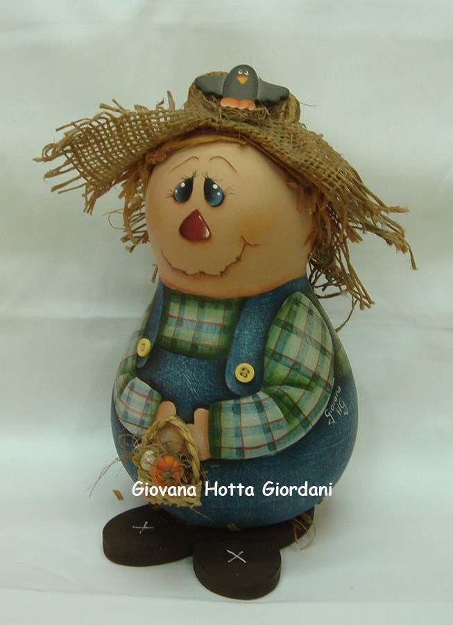 Giovana Hotta Giordani Design de Interiores Pintura decorativa: Pintura em Cabaças ou Porongo