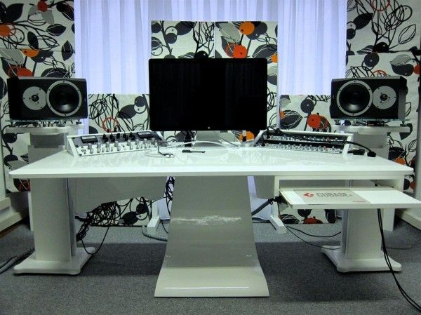 the zaor desk surely is providing an awesome home studio desk recording studio designhome