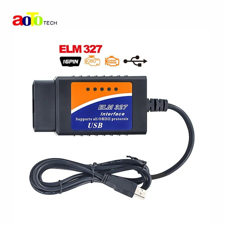 2017 OBD2 Scanner V2.1 ELM327 usb interface Car diagnostic tool ELM 327 USB supports OBD-II protocols