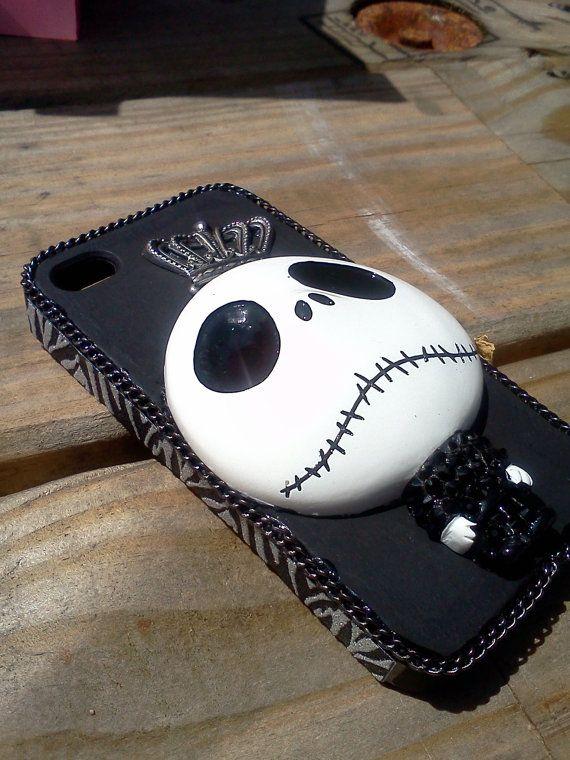 Jack The Skeleton Cell Phone Case by SMDezignz on Etsy, $20.00