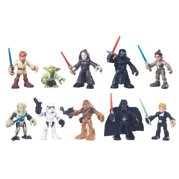 Playskool Heroes Star Wars Galactic Heroes Galactic Rivals Figure Set, Multicolor