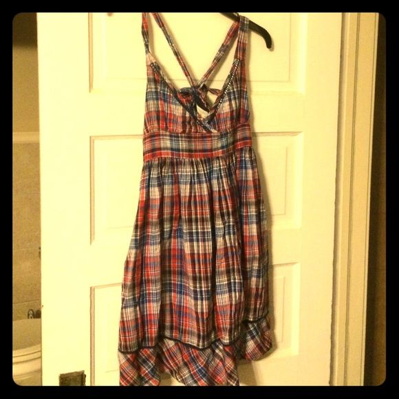 I just discovered this while shopping on Poshmark: Kimchi Blue Plaid Sundress. Check it out!  Size: XS, listed by citizencase