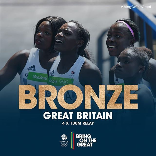 YES!!! A #BRONZEmedal for these ladies! Teamwork makes the dream work…