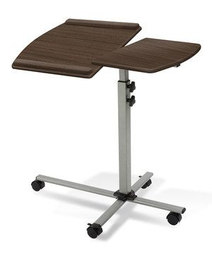 Loving this Walnut Height-Adjustable Laptop Table on #zulily! #zulilyfinds