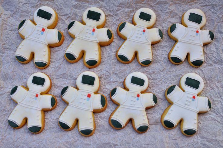 Astronaut Cookies