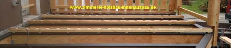 Holzterrassen, Terrassenbelag aus Douglasie, Lärche, Bankirai | Zimmerei Holzbau NUR-HOLZ Partner im Massivholzhaus Bau Plusenergiehaus Niedrigenergiehaus Carportbau, Holzbalkone, Holzterrassen, Fachwerksanierung, Blockhaus Gerd Ribbeck