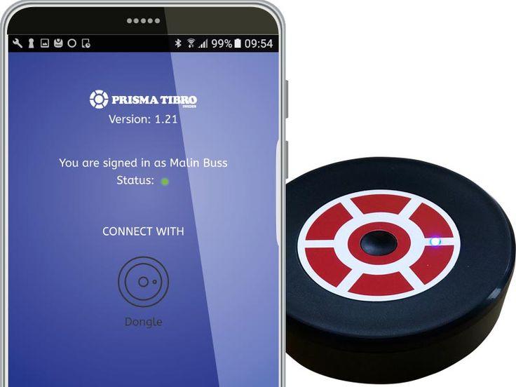 Dongle för Prisma Light En dongle är en lite puck-liknande teknisk pryl som på ett praktiskt trådlöst sätt etablerar kommunikation mellan Prisma Lights armaturer och din Android. Android-app använder du för att göra... http://www.prismatibro.se/dongle_170522/ #prismatibro