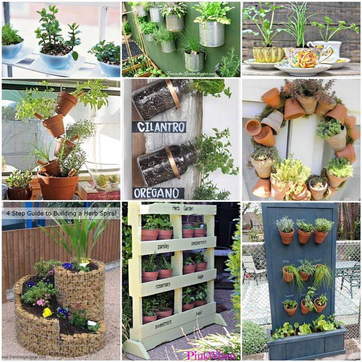35+ Creative DIY Herb Garden Ideas