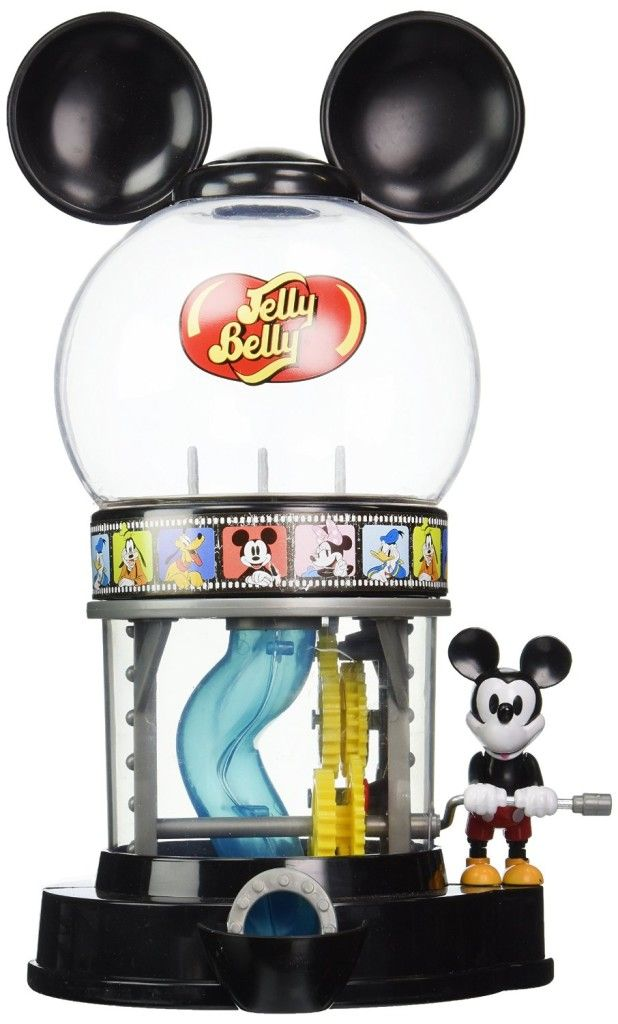 Disney's Mickey Mouse Jelly Belly Dispenser 1 oz assorted sample jelly beans bag