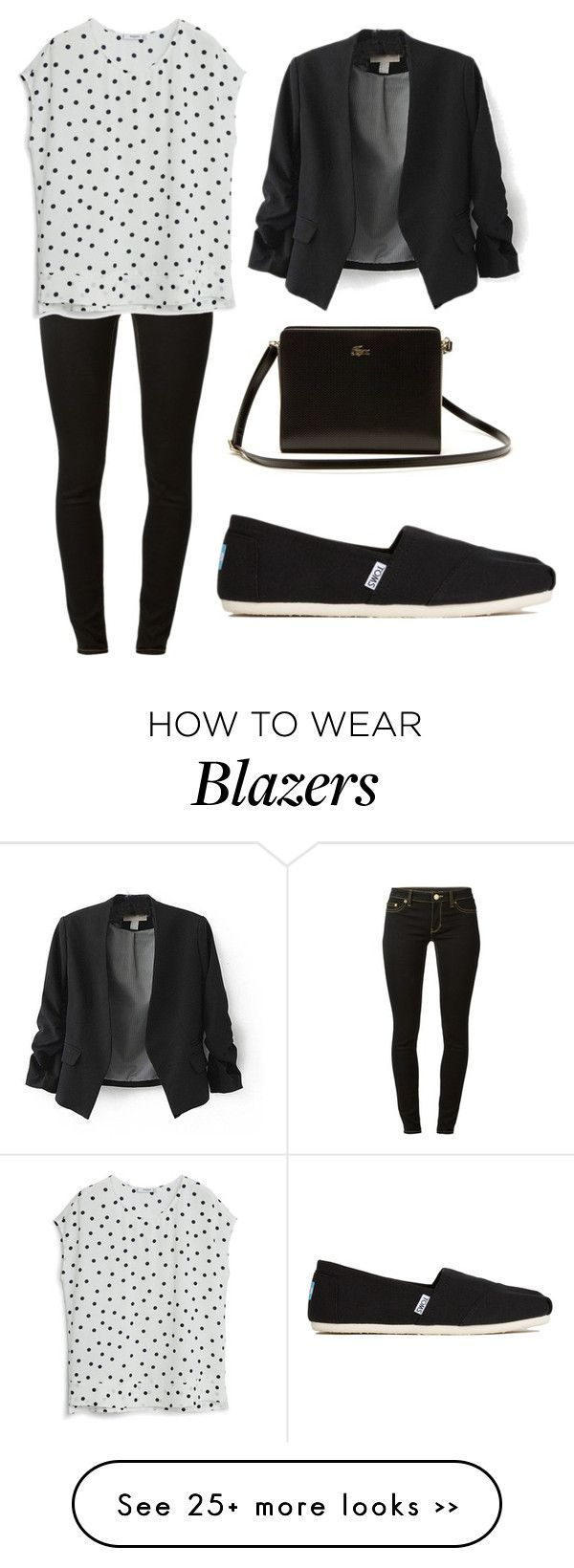 """Black Blazer Outfit"" by fashiontrendsetterforever on Polyvore"