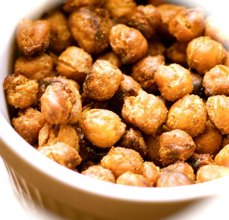 Crunchy Roasted Chickpeas: Meet Your New Favorite Snack - A Vegan Blogging Extravaganza at The Flaming Vegan