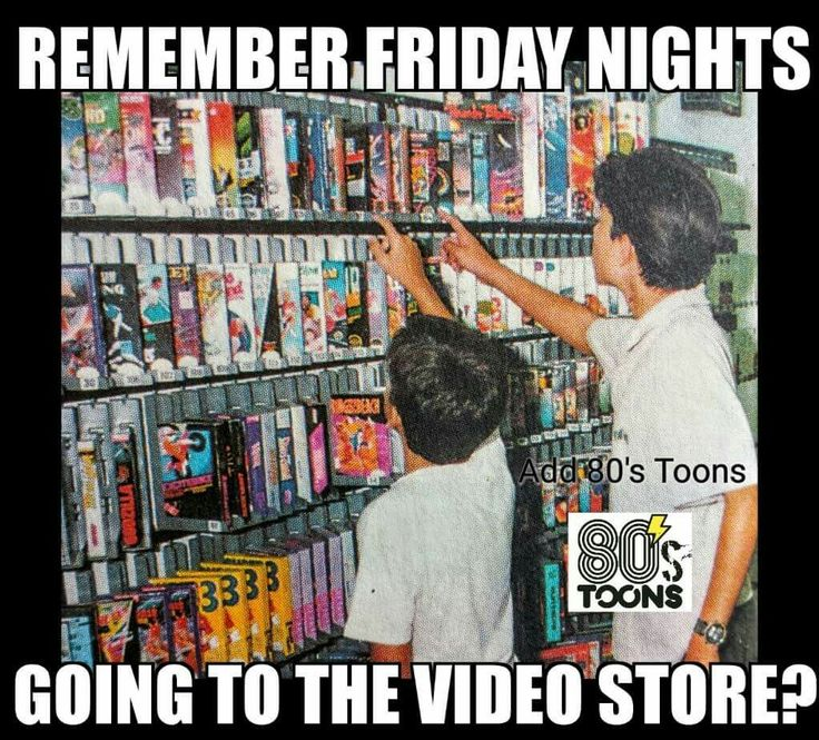 Good old days video store