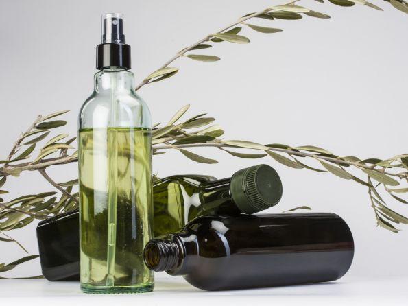 Huile Spray para pulverizar el vinagre y Marasca Pet con boca irrellenable para el aceite.