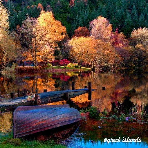 Autumn Holiday in Greek Islands