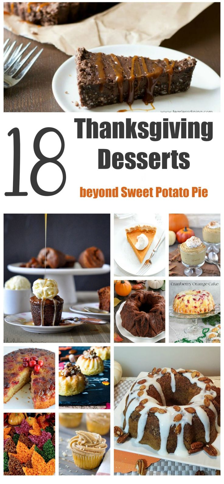 Don't let the turkey steal the thunder this #Thanksgiving, offer up these #mouthwatering Thanksgiving #desserts for a #delicious twist