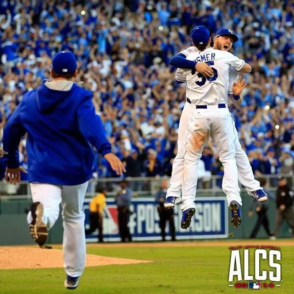 Kansas City Royals are headed to the World Series 2014