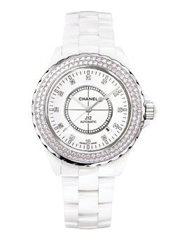 Chanel - J12 Diamond Watch - at - London Jewelers