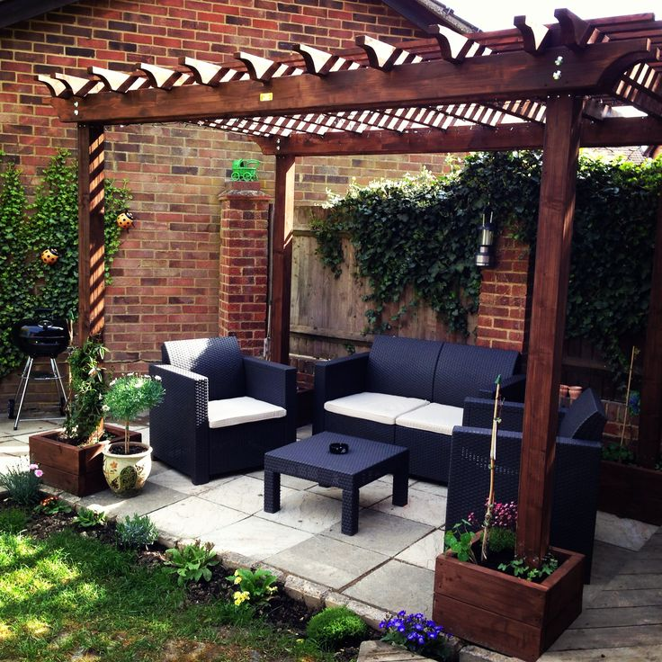 Big range of pergola kits for the home handy man http://diypergolakits.net