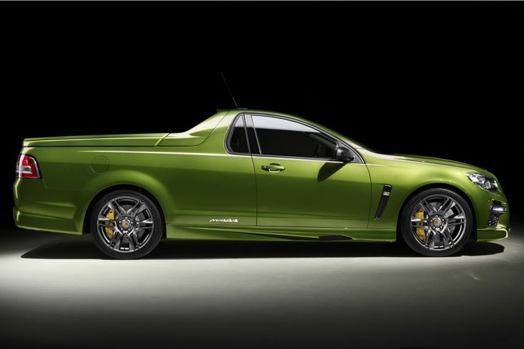 The HSV GTS Maloo was Holden Special Vehicles insane sendoff to the iconic ute—Australia's El Camino, as it were. It was extreme in all the good ways, powered by a 576-hp, 545 lb-ft version of the LSA V8 used in the Chevy Camaro ZL1 and Cadillac CTS-V. 250 were made, and yes, it was available with a stick, to boot.