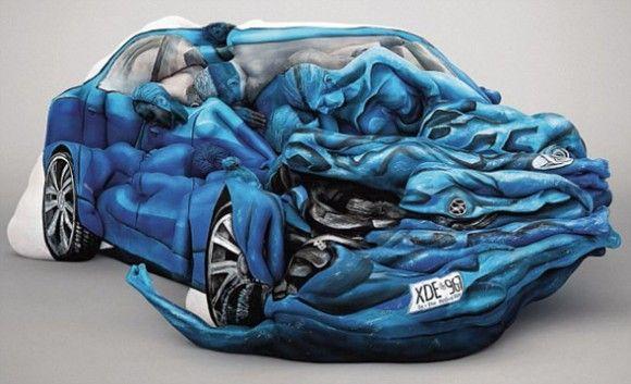 Body Paint Car by Emma Hack