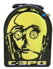 Star Wars Tin School Lunchbox Lunch Box Bag C3PO C-3PO