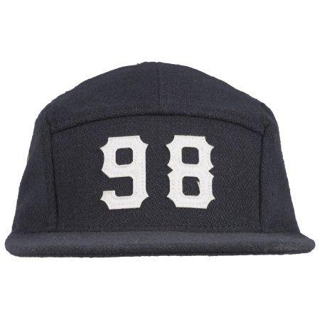 b52db2dc Diamond Supply Melton 98 5 Panel Wool Strapback Hat Headwear Cap Lid Mens  Navy #diamondsupply