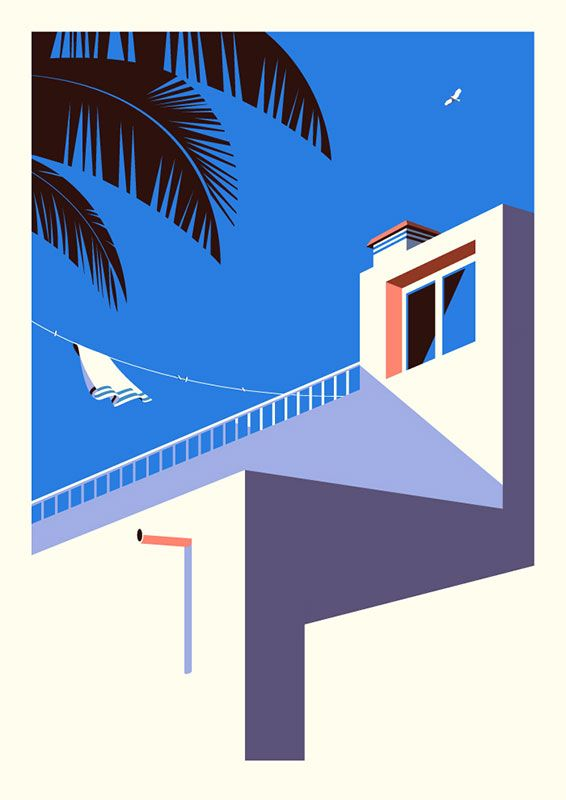 Malika Favre - On The Draw - Handsome Frank Illustration Agency