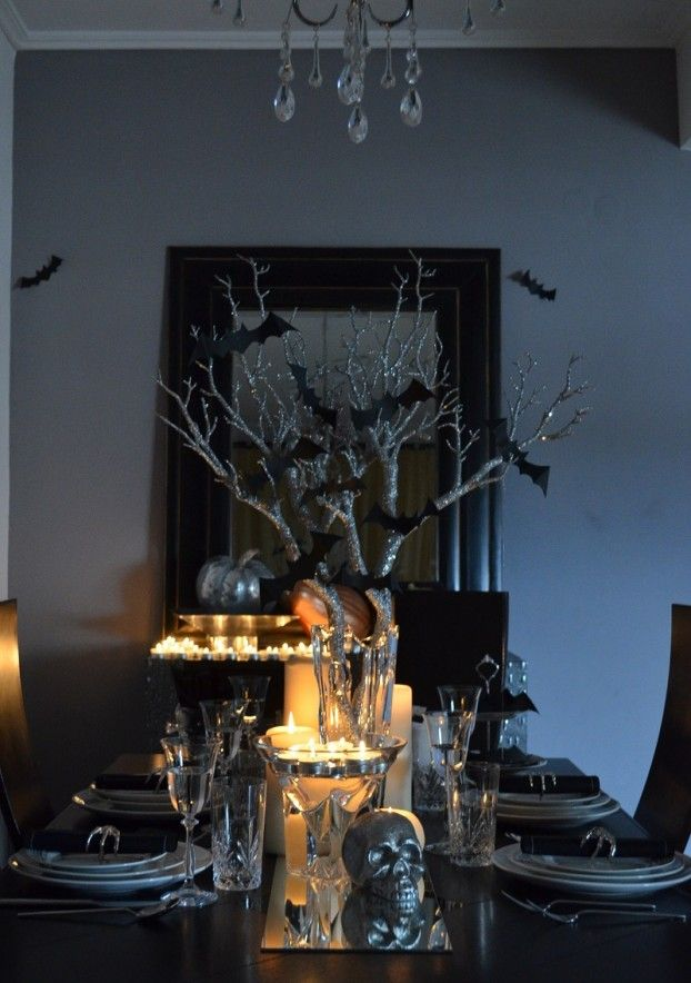 25 elegant halloween decorations ideas - Halloween Decor 2016