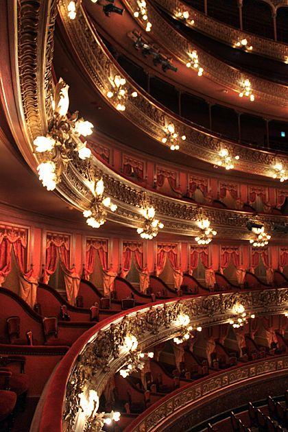 One the most famous theaters in the world: COLON THEATER is a piece of art every corner of it. Where the most famous ballet dancers and orchestras performed.  BUENOS AIRES- ARGENTINA