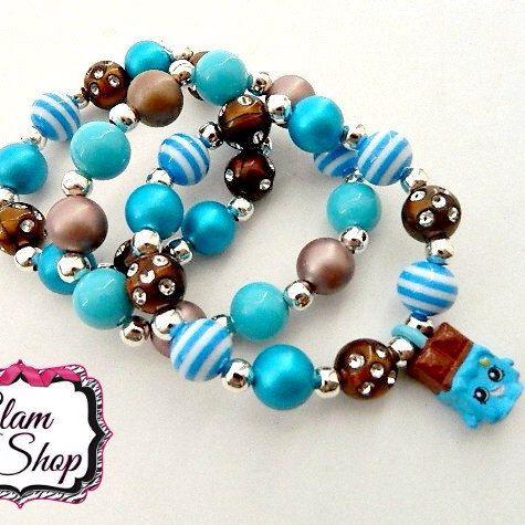 New Shopkins bracelets!!  Halloween theme Shopkins kits and ready made jewelry coming soon <3