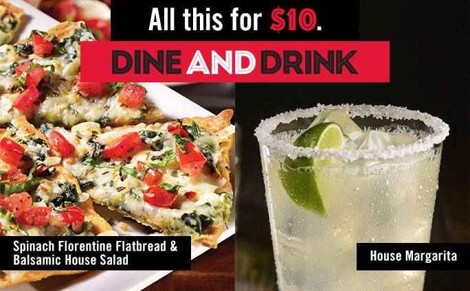 We've got your watch party's after party. Whether your team won or lost, celebrate the last day of DineAndDrink with an adult beverage and entrée for just $10. http://anncoupons.com/restaurantscoupons/item/tgi-fridays-coupons