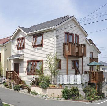 スウェーデンハウスの住宅実例1