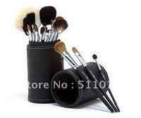 ¡Promociones! 15 piezas pincel de maquillaje profesional cepillo cosméticos con el titular de la taza del cepillo Envío Gratis