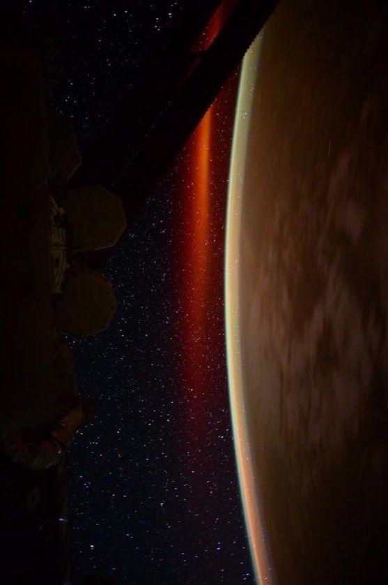 "Goodnight from Space! | International Space Station Scott: Day 108. ""Aurora sleeps tonight.""   Credit: NASA/JSC, U.S. Astronaut Scott Kelly Date: July 13, 2015"