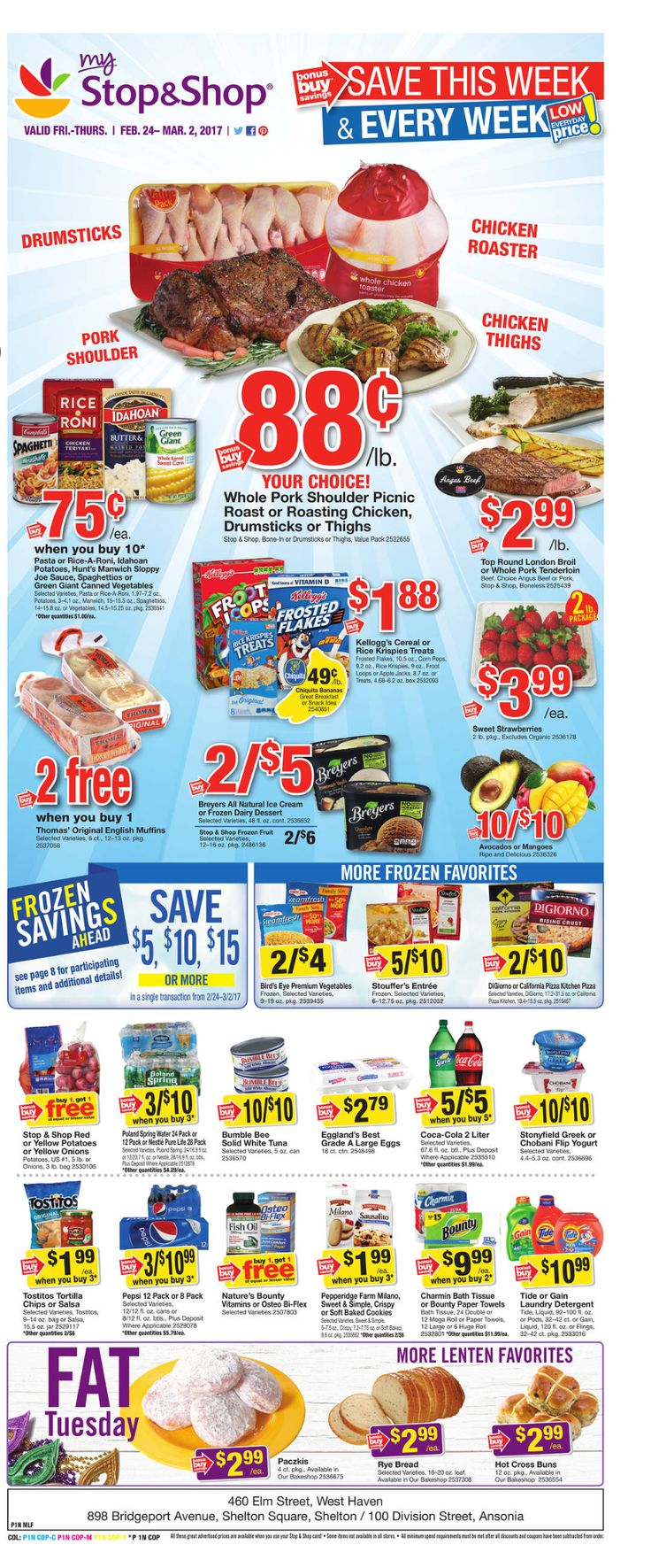 Stop and Shop Circular February 24 - March 2, 2017 - http://www.olcatalog.com/grocery/stop-and-shop-circular.html