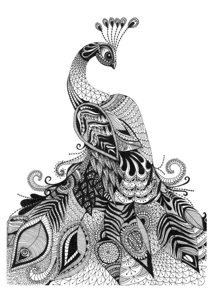 Natania is a visual artist who creates beautiful artworks with amazing detailed line work.