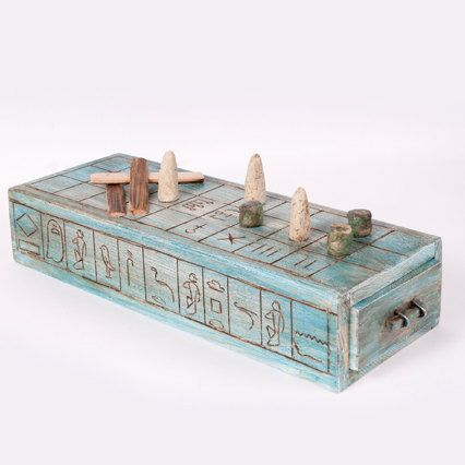 Senet board game from Ancient Egypt by buxaina on Etsy, €25.00
