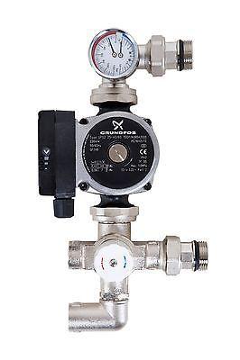 Grundfos Underfloor Heating Manifold Pump Control Pack Blending Valve A-Rated